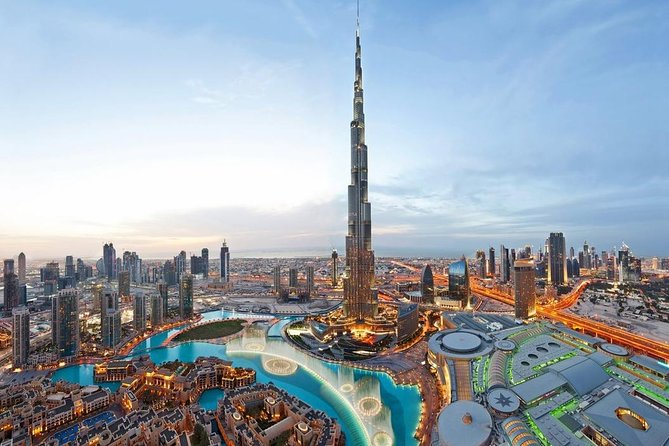 Morning Modern Dubai with Burj Khalifa Ticket 124 Floor - Private Tour