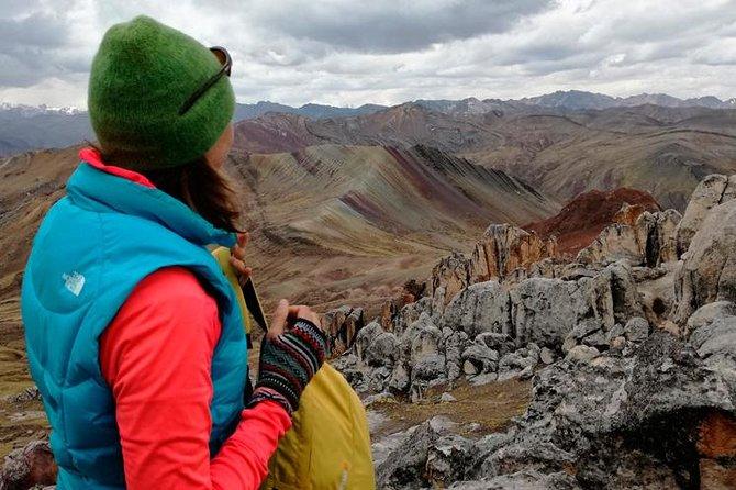 Rainbow Mountains Palcoyo and Q'eswachaka Bridge