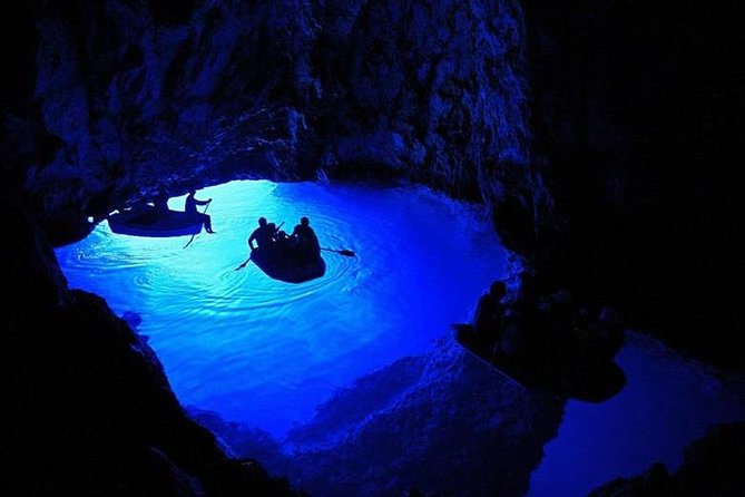 Split to Blue Cave, Komiza, Stiniva Bay and Hvar Full-Day Tour
