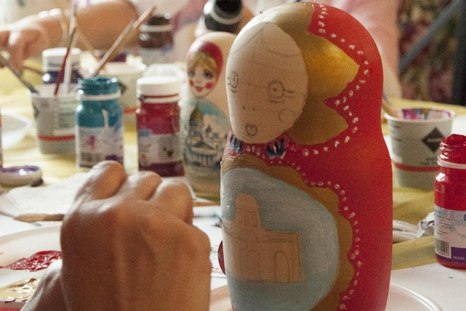 Private Matryoshka-doll Painting Class in St Petersburg