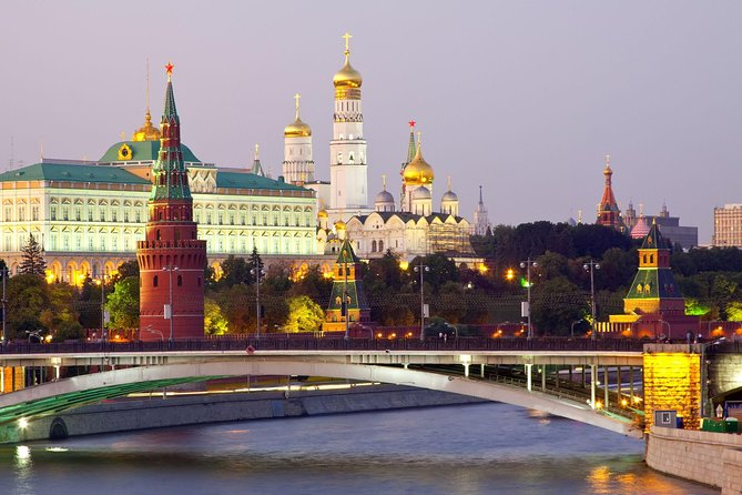St Petersburg and Moscow 6-Day Grand Tour