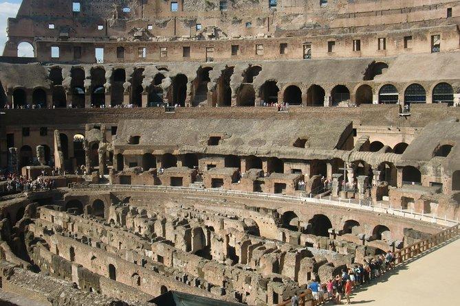 Civitavecchia port:VIP Private full day tour of Rome Colosseum tickets included