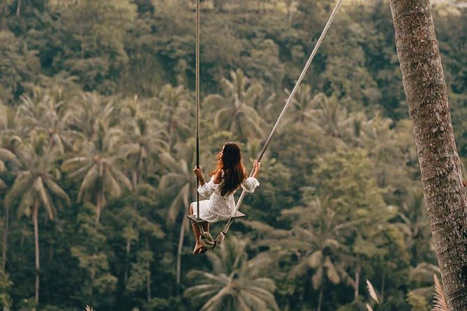 Ubud Jungle Swing with free Coffee Testing & Return Transfer