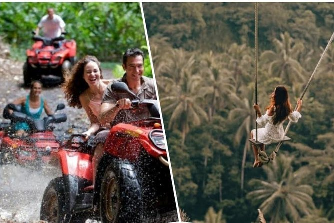 Combination ATV QUAD Bike Ride & Jungle Swing with Complimentary Lunch