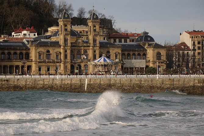 San Sebastian & The Basque Wine Region with Lunch and Wine Tasting (From Bilbao)