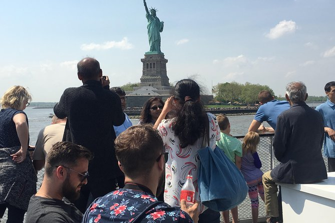 Skip the Line Statue of Liberty & Ellis Island Tour Reserve Access Ticket-OPENED