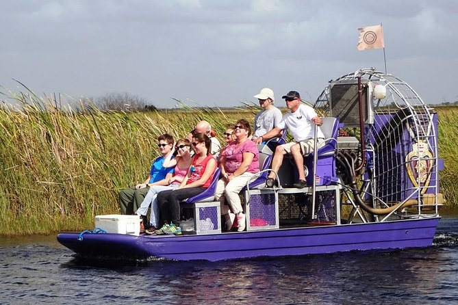 Economy-Shared Everglades Airboat Tour from Miami