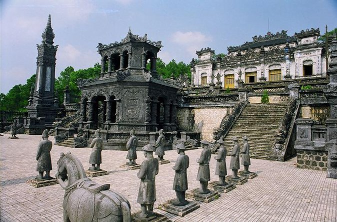 Hue city tour with private english speaking driver: see royal tombs and more