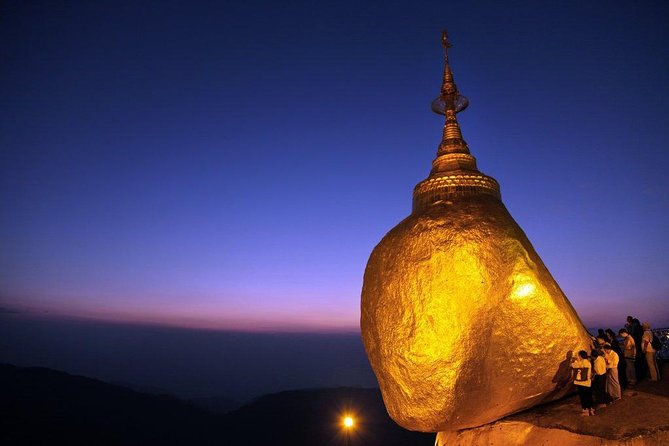Day trip from Yangon to Golden Rock