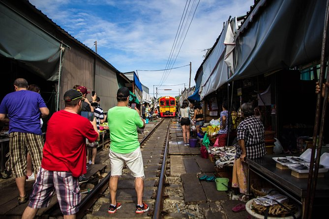Private Tour : Unseen Railway and Floating Market then Phenomenon Temple