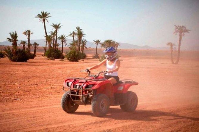 Half day quad biking safari in Palmerai and Desert