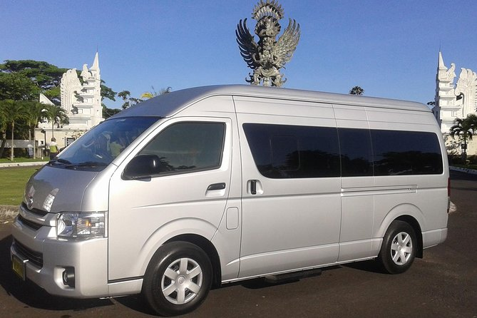 Bali Full Day Group Tours Minibus Toyota HiAce up to 12 Pax