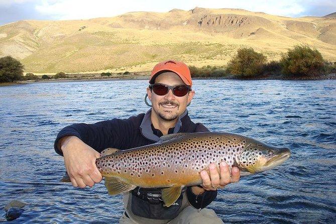Viagem diurna para pesca com mosca em Bariloche