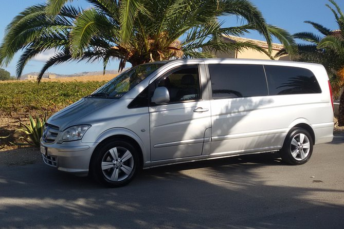 Transfer Syracuse to Palermo with to visit Agrigento with Van