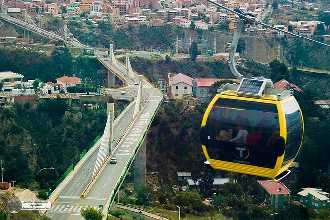 Full Day: City tour La paz - Cable car - Moon and Spirit Valley