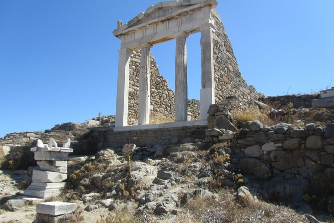 Day Boat trip to Delos and Mykonos from Naxos