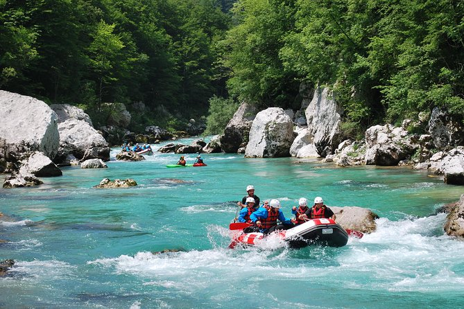 Whitewater rafting in Bovec