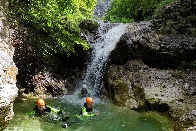 Fratarica Canyoning in Bovec Slovenia