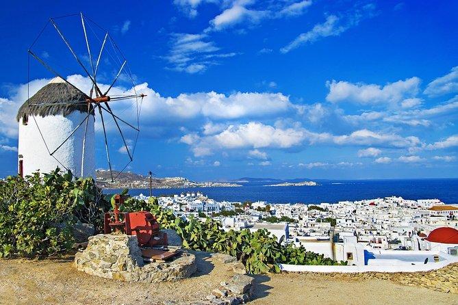 Visit Mykonos Chora & Beaches Half Day