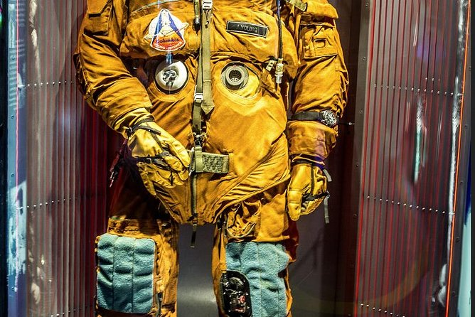 Escape suit worn by John Young