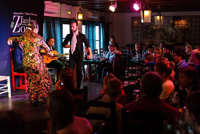 Skip the Line: Flamenco Show Ticket at Jardines de Zoraya, Granada