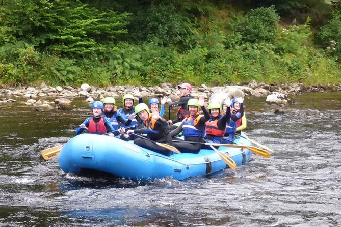 White Water Rafting and Stand Up and Paddle Boards on the River Tay from Aberfeldy