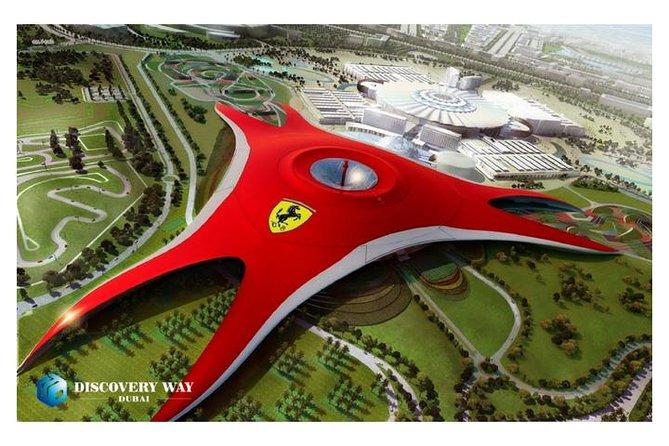 Abu Dhabi City Tour & Ferrari World Abu Dhabi