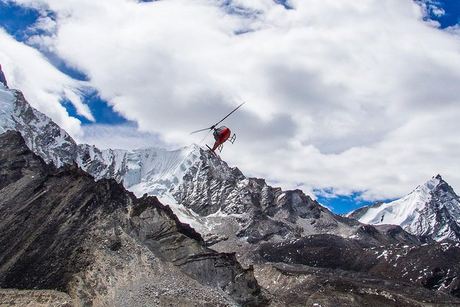 Helicopter tour to Everest Base cam