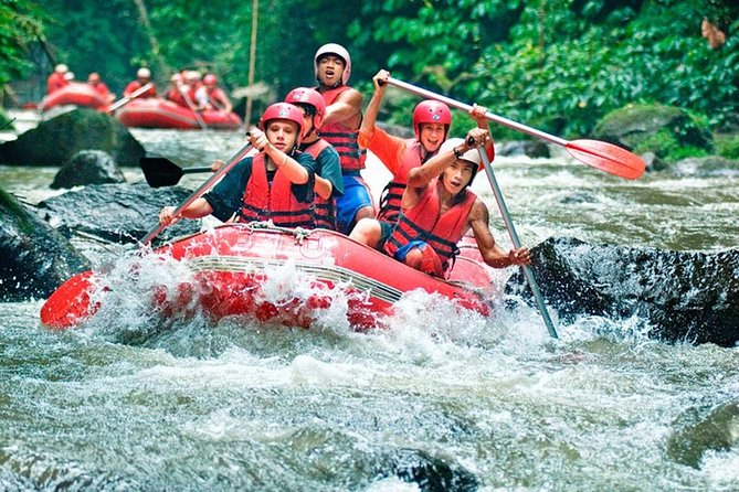 Bali Rafting at Ayung River Ubud and Free Hotel Transfer