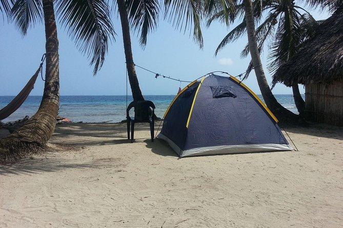Camping in San Blas Islands