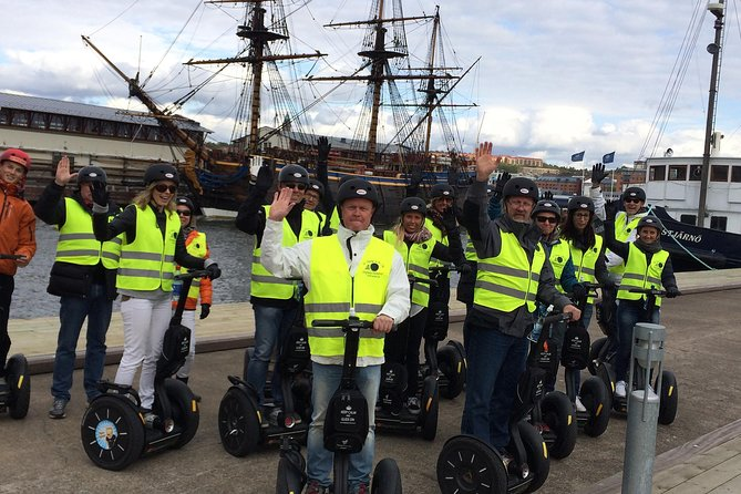 Segway with friends