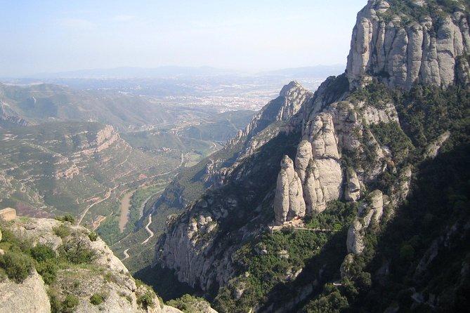 The Montserrat and Codorniu Wine Cellars Tour in Barcelona
