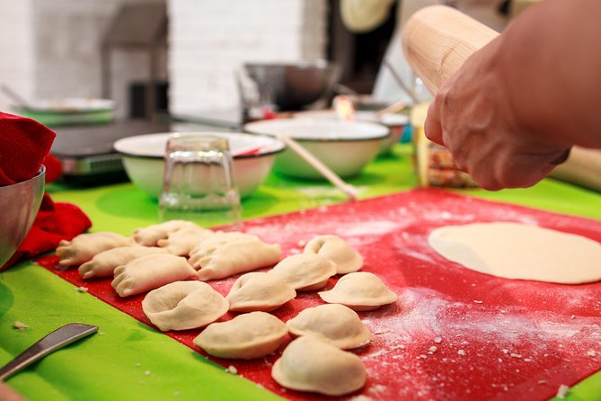 Learn how to make pierogis!