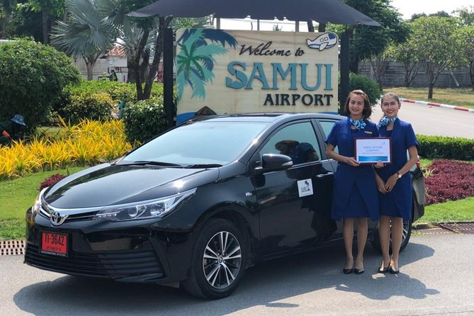 Private Airport Transfer in Koh Samui Sedan 1-3 PAX