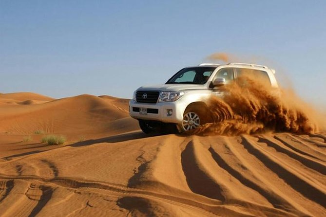 Morning Dubai City Tour and Evening Desert Safari With Barbecue Dinner