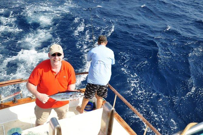 Demi-journée de pêche privée en haute mer à Curaçao