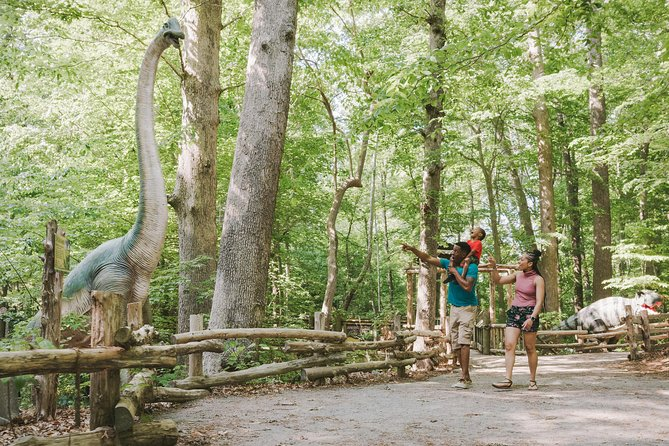 Virginia Living Museum Dino Trail