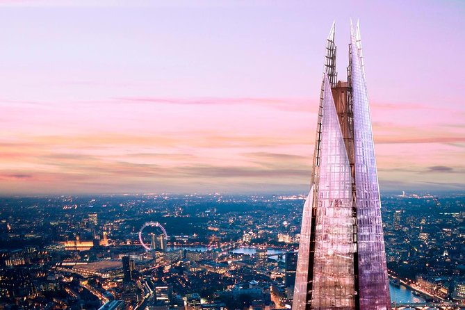 Go Up The Shard & London Landmark Walking Tour