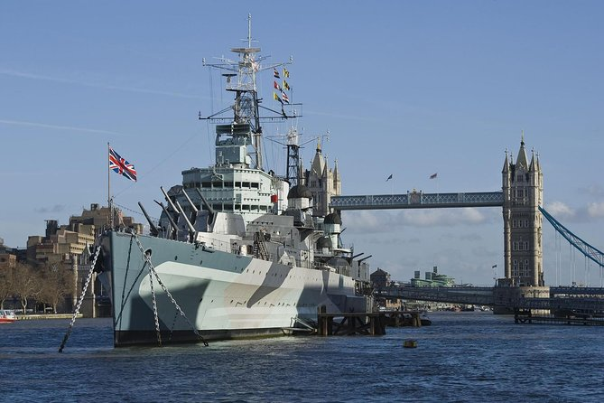 Embarquez à bord du HMS Belfast et découvrez la visite des plus de 30 sites de Londres