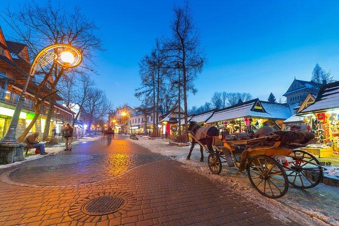 Excursion privée d'une journée dans les montagnes Tatras et Zakopane au départ de Cracovie