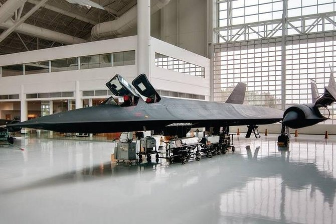 The museum's SR-71 Blackbird