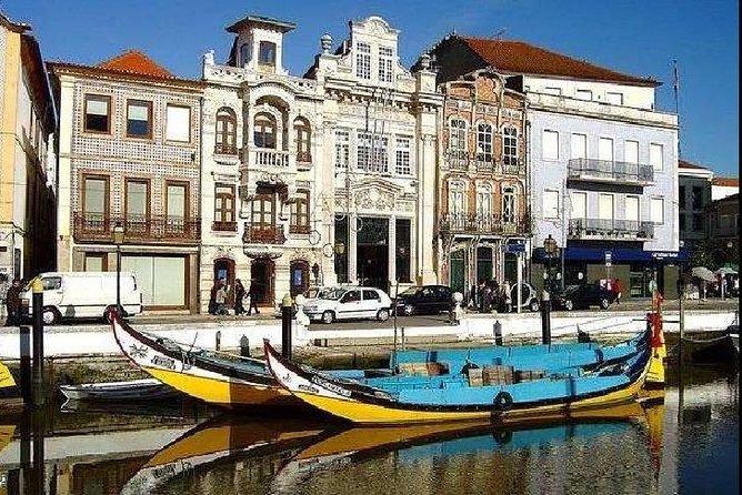 Excursão de meio dia em Aveiro saindo de Porto, incluindo cruzeiro fluvial por Moliceiro