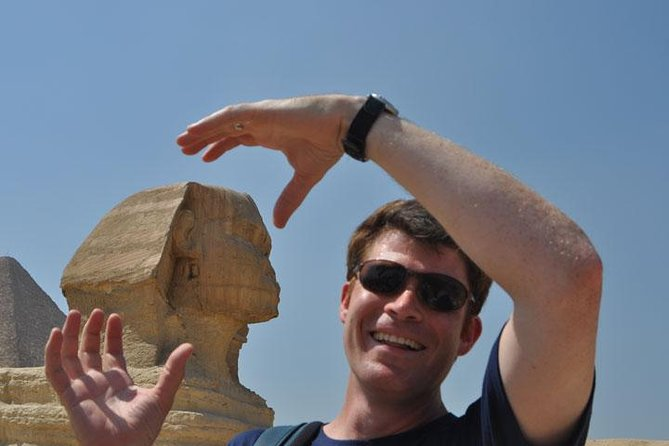 Guided Day Tour to Giza Pyramids and Saqqara from Cairo with Felucca Ride and Derwish Show