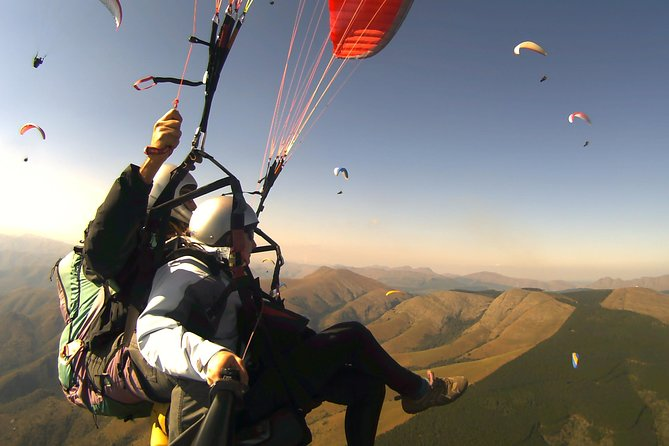 Tandem Paragliding Experience with Optional Transport from Rome