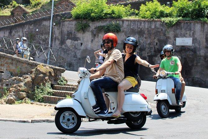 Rome by Vintage Vespa: Classic Rome Tour