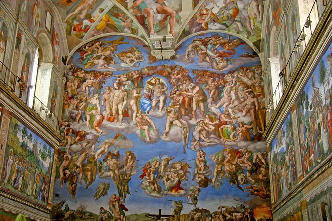 Private Tour: Vatican Museums, Sistine Chapel, St Peter's Basilica with pick up