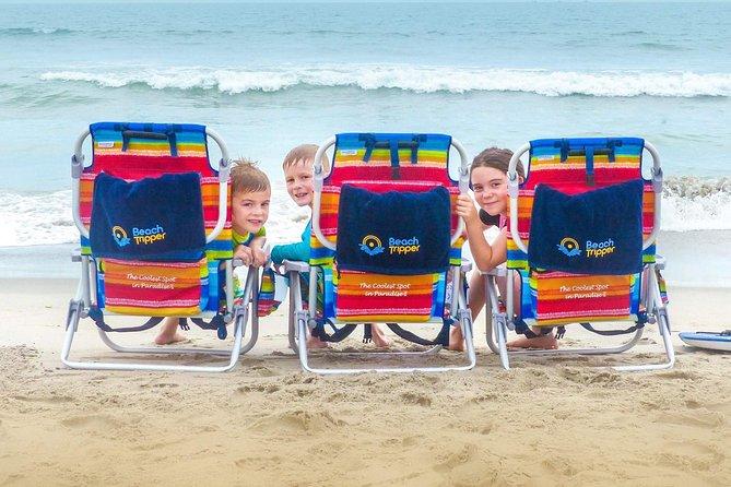 Beach Chair, Beach Umbrella and Beach Towel