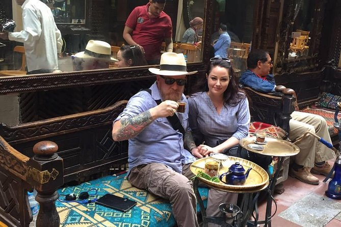 Cairo stopover tour to the Egyptian museum and Khan El Khalili market