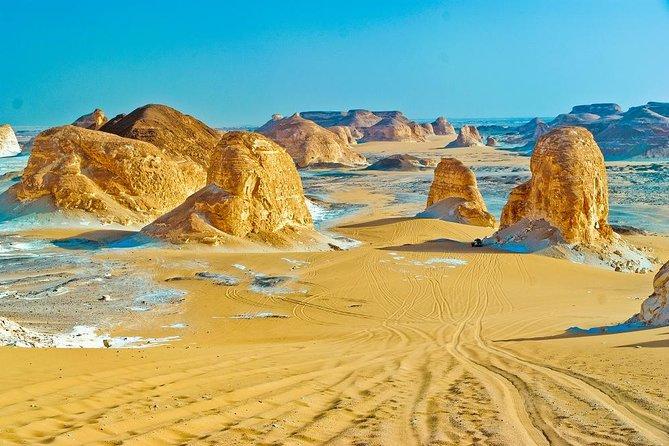 Unforgettable overnight in the white desert-Bahareya Oasis