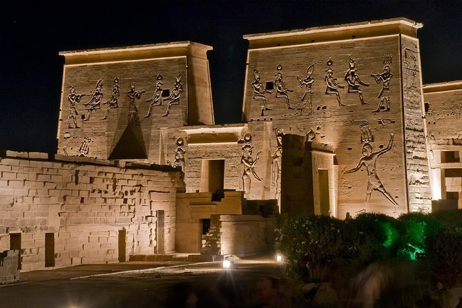 The Magical Experience of Philae Temple Sound and Light Show